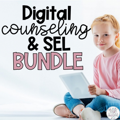 Digital Distance Learning Counseling SEL