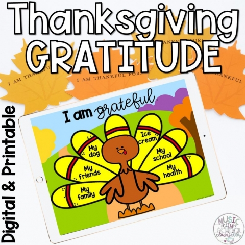 Thanksgiving Gratitude Lesson