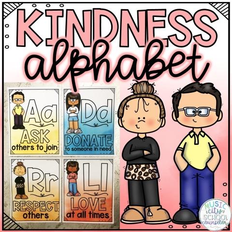 kindness alphabet