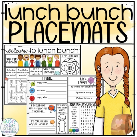 lunch bunch placemats